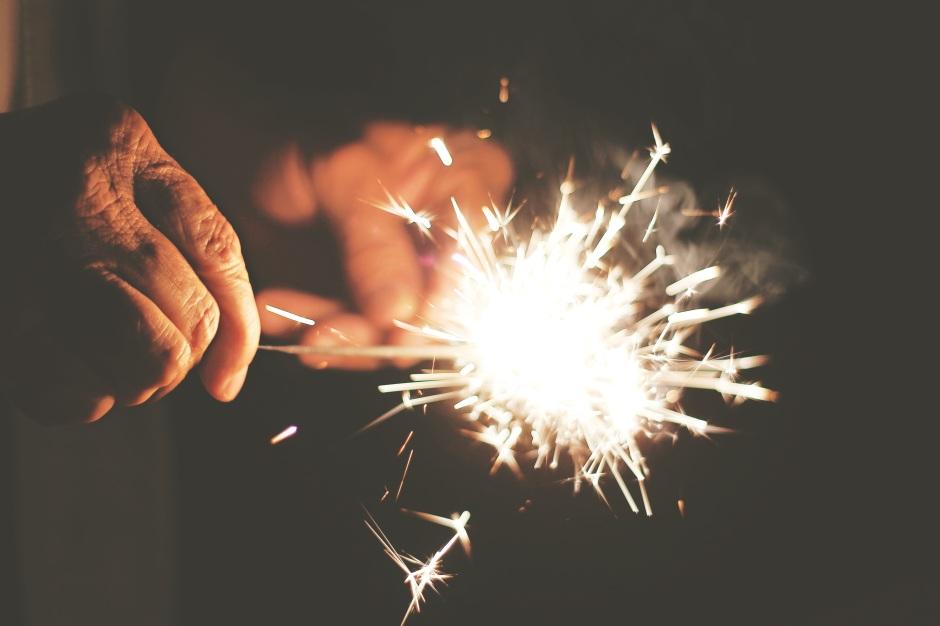 sparkler old hands