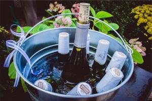 stella artois and champagne